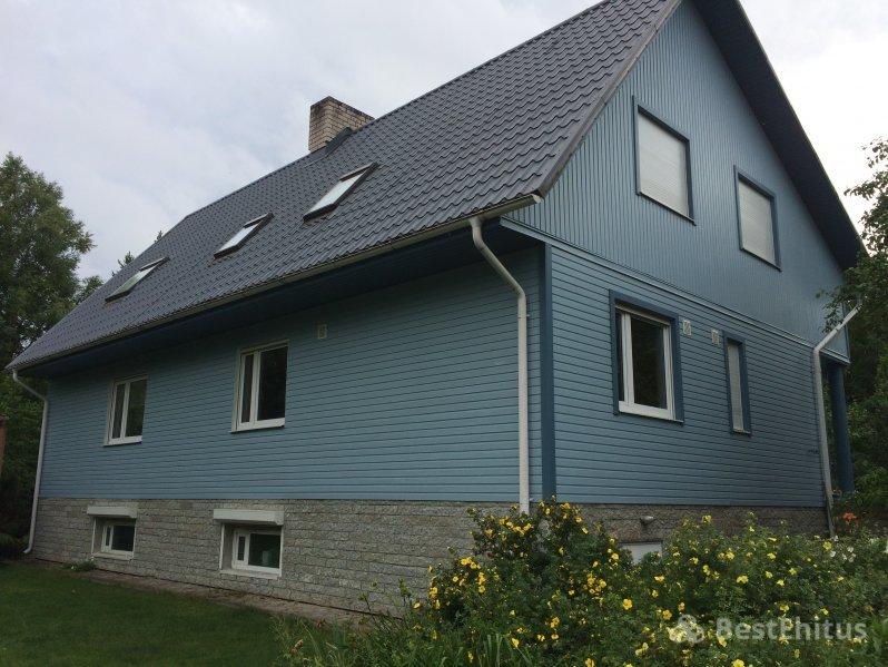Новые материал для отделки фасада дома